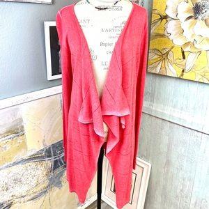 Lauren Vidal sweater coral ombré S cardigan